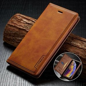 Leather Wallet Cover Sim Card Case for iPhone